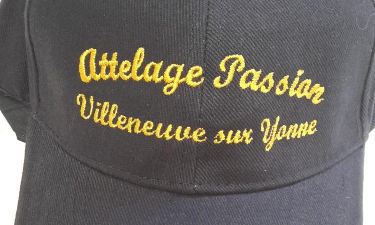 Logo brodé, personnalisé sur casquette